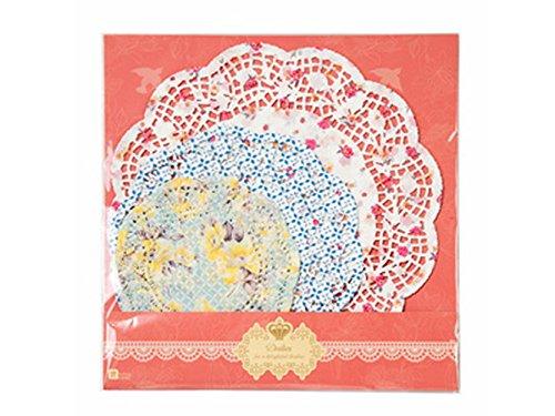 Talking Tables tapetes crochets a lunares floreados 'TS4.' Multicolore. Papel.