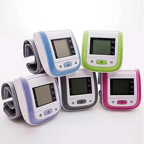 Wysgvazgv Blutdruckmessgerät, Handgelenk-Blutdruckmessgerät Vollautomatische Eine PräziseBlutdruck- und Pulsmessung mit Memory-Funktion für Den Heimgebrauch mit Arrhythmie-Erkennung