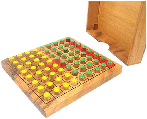 Braille Store Tactile Wooden Othello Game for Blind and Sighted Players
