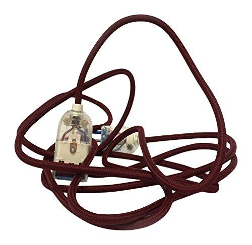 Merlotti Verlängerungskabel mit Kabel H03VV-F 3x0.75, rot, 35876