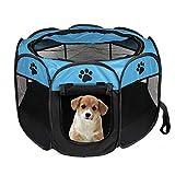 Tienda de campaña plegable portátil para mascotas, jaula para perros y gatos,...