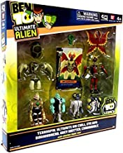 Ben 10 Exclusive Ultimate Alien Creation Chamber Figure Set 6Pack Terraspin, Ultimate Big Chill, Eye Guy, Diamondhead, Grey Matter, Cannonbolt