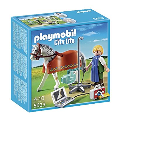 PLAYMOBIL Veterinaria: City Life Caballo
