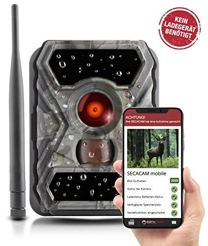 SECACAM Mobile - 3G wildcamera met simkaart kan worden verzonden (GPRS, GSM, UMTS / 3G) met mobiele telefoon overdracht & app