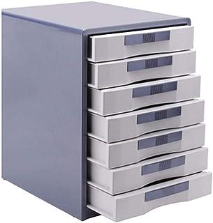 HongLianRiven Armoires de Stockage Boîte de Stockage de données de Classification de fichier en métal de Bureau A4 de 7 ti...
