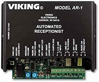 VIKING ELECTRONICS Single Line Automated Receptionist / 12 Minutes of Flash message memory / VK-AR-1 /
