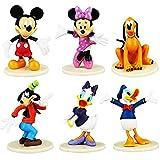 Minnie Adorno para Pasteles, Decoraciones de cumpleaños de Minnie para Niñas Artículos de Fiesta de cumpleaños con temática de Minnie Decoraciones
