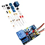 ROUHO Kit De Module De Comparateur De Tension DIY Lm393 avec Bande De Protection Inversée Indiquant Multifonctionnel