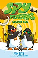 Image of Golden Egg Spy Penguins. Brand catalog list of Feiwel & Friends.