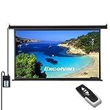 Écran de Projecteur Motorisé Électrique HD avec Télécommande 221,4x124,5cm 100...