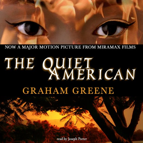 The Quiet American audiobook cover art