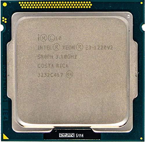Procesador CPU Intel Quad Core E Xeon 3-1220 V2 3,1Ghz, LGA1155 SR0PH Servidor de PC