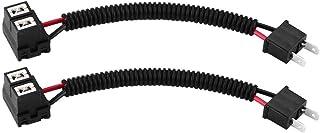Verlängerungsadapter für Nebelscheinwerfer, Keramik + PVC H7 Scheinwerfer Nebelscheinwerfer Verlängerungsstecker/Stecker/Adapter H7 Keramikadapterkabel