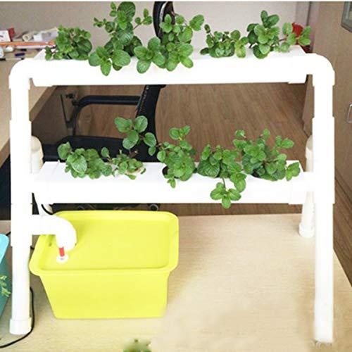 DyNamic Mini 2 Layer 8 Sites Hydroponik System Kit Ebbe \U0026 Flut Tiefseekultur Dwc Grow Planting Vegetable