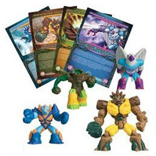 Gormiti Lords of Nature Return 6 cm Collectable Figure 4 Pack (Figures Vary)