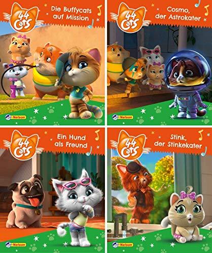 Nelson Mini-Bücher: 44 Cats 1-4: 24 Mini-Bücher im Display