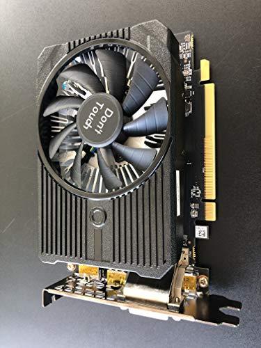 FUJITSU AMD Radeon RX 460 4GB FH PCIe Gen3 1x DVI-D dual link 3X DP GDDR5 Full Height belegt 2 Einbauplätze