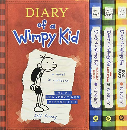 Diary of a Wimpy Kid Boxed Set: Diary of a Wimpy Kid/Rodrick Rules/The Last Straw/Dog Days