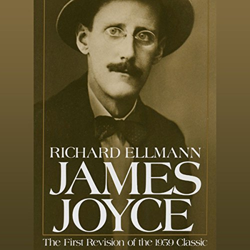 James Joyce audiobook cover art