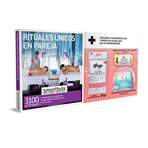 Smartbox - Caja Regalo para Mujeres - Rituales únicos en Pareja - Ideas Regalos Originales para Mujeres - 1 Actividad de Bienestar para 2 Personas + ¡3 Productos de Belleza Gratis!