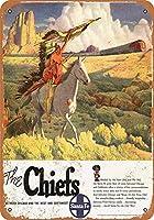 1949年サンタフェチーフスシカゴとサウスウェストコレクティブルウォールアート
