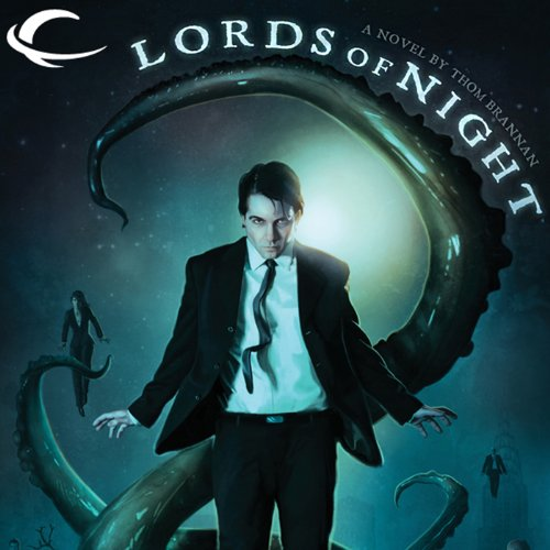 Lords of Night audiobook cover art