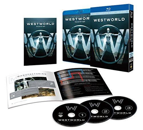 【Amazon.co.jp限定】ウエストワールド 1stシーズン ブルーレイ コンプリート・ボックス(初回限定生産/3枚組/ウエストワールド運営マニュアル付) (US版 4Kスチールケース付) [Blu-ray]