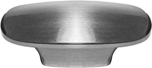 ZHANGJIAHE 5 Pack Brushed Nickel Cabinet pulls Hardware Handles for Furniture Oval Furniture Drawer Kitchen Cabinet Dressing Table Wardrobe Door 2 inch
