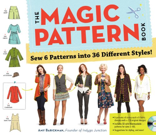 Magic Pattern Book : Sew 6 Patterns into 36 Different Styles!