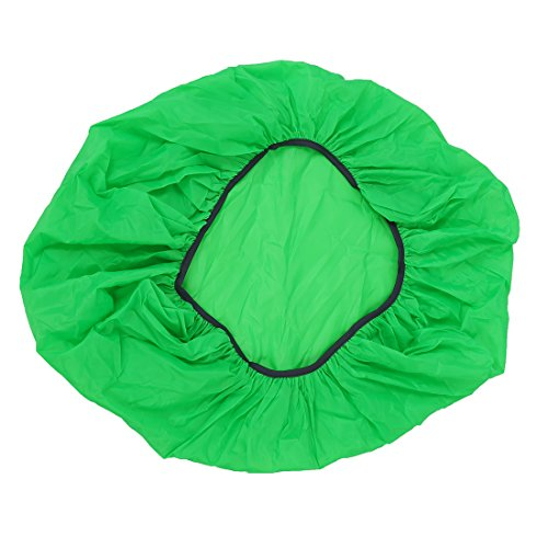 Cuasting New Waterproof Travel Hiking Accessory Backpack Camping Dust Rain Cover 35L,Green