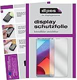 dipos I 6X Schutzfolie klar kompatibel mit LG G6 Folie Displayschutzfolie