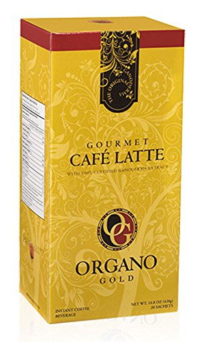 Organo Gold Gourmet Café Latte (enriched with Ganoderma lucidum fungus)