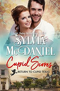 Cupid Scores: Western Small Town Contemporary Romance (Return to Cupid Texas Book 2) by [Sylvia McDaniel, Tina Winograd]