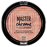 MAYBELLINE FaceStudio Master Chrome Metallic Highlighter - Molten Rose Gold