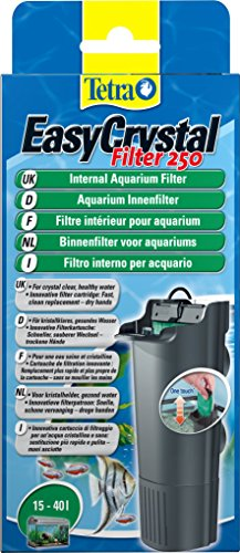 Tetra EasyCrystal 250 Aquarium Internal Filter for Crystal Clear, Healthy Water Inside the Fish Tank