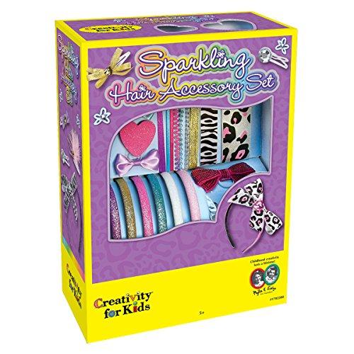 Creativity for Kids - Cfk1782 - Kit De Loisirs Créatifs - Kit D'accessoires Scintillants De Cheveux
