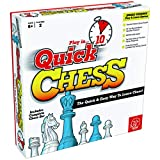 LEARN CHESS WITHOUT THE STRESS - Learning chess should be fun. That's why Quick Chess uses 8 simple, fun games to teach kids aged 6+ every move in Chess. Just follow the numbered activities! FLIP THE BOARD FOR TRADITIONAL CHESS - Once beginners make ...