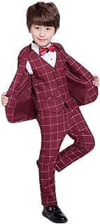 topmodelss フォーマルスーツ3セット 子供服 男の子スーツ ジャケット ベストズボン 洋服 卒業式 入学式 結婚式 発表会