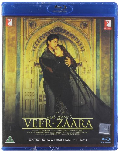 Veer - Zaara (2004) [Blu-ray] (Classic / Shahrukh Khan / Bollywood Movie / Indian Film / Hindi Film) [NTSC] [UK Import]