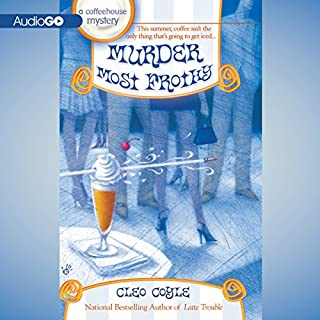 Murder Most Frothy audiobook cover art