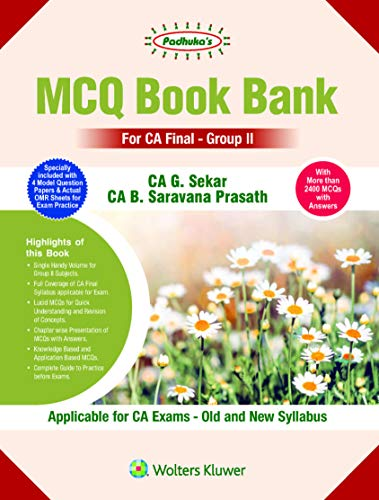 MCQ Book Bank for CA Final Group II
