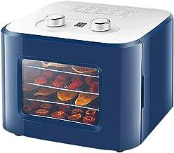 Déshydrateur de fruits pour aliments Séchoir pour aliments avec minuterie programmable à thermostat réglable 35-80 ° C 1-2...