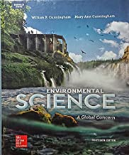 Cunningham, Environmental Science: A Global Concern © 2015 13e, AP Student Edition (Reinforced Binding) (A/P ENVIRONMENTAL SCIENCE)