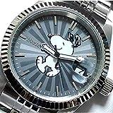 スヌーピー レディース シルバー 腕時計