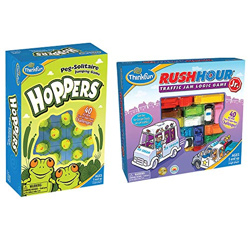 Think Fun 5043 Rush Hour Jr Hoppers Bundle Multi