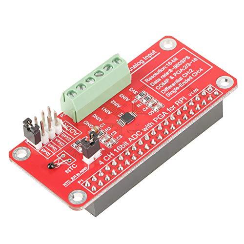 Módulo ADC, módulo analógico a digital de un solo extremo Precisión de muestreo Metal, velocidad de datos de plástico