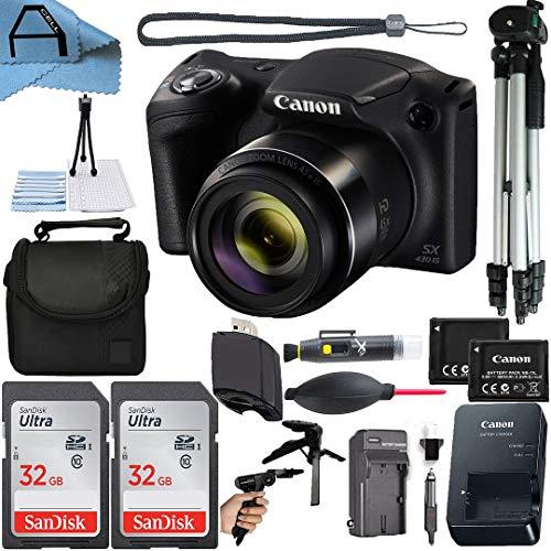 Canon PowerShot SX430 is 20MP Digital Camera 45x...