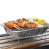 Griglia Barbecue USA E Getta,griglia Mini BBQ,griglia Barbecue Portatile,Festa di Famiglia...