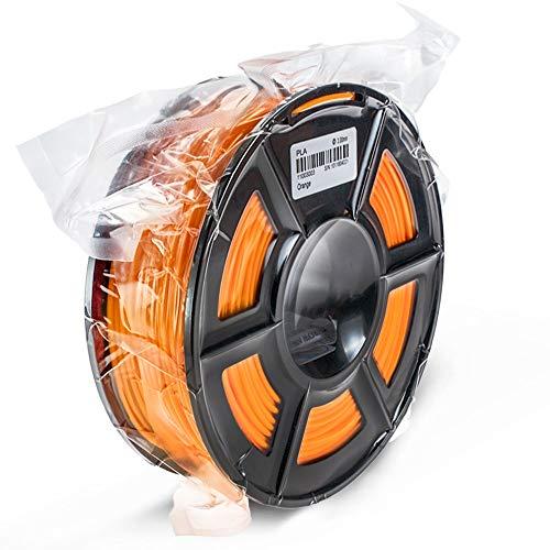 SRY-Holster HH-DYHC, Materiales 1pc 250g 1,75 mm Impresora 3D PLA filamento de impresión plástico Anaranjado 3D for impresión en Extrusora Accesorios Pen (Color : 250g Orange)
