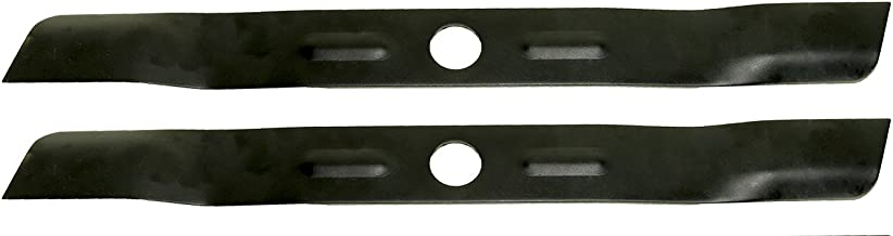 USA Mower Blades (2 BD18BP Low Lift Mulching Blade Replaces Black and Decker 90548199 Length 17 1/2 in. Width 1 3/4 in. Thickness .150 in. Center Hole 1 in.
